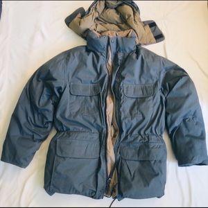 Eddie Bauer Men's Winter Coat-Goose Down